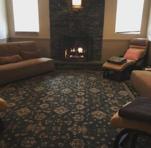 Hygge relaxation room