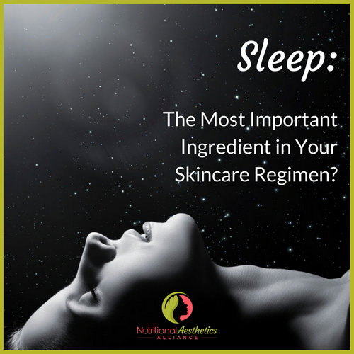 Sleep: The Most Important Ingredient in Your Skincare Regimen?