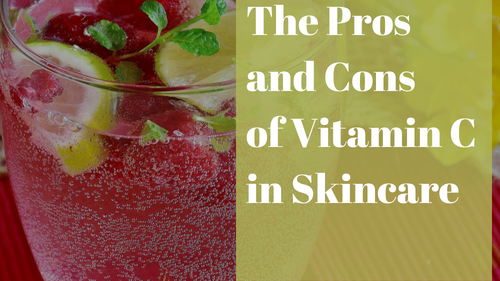 Pros and Cons of Vitamin in Skincare